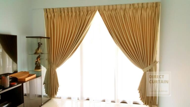 day and night curtains in living room