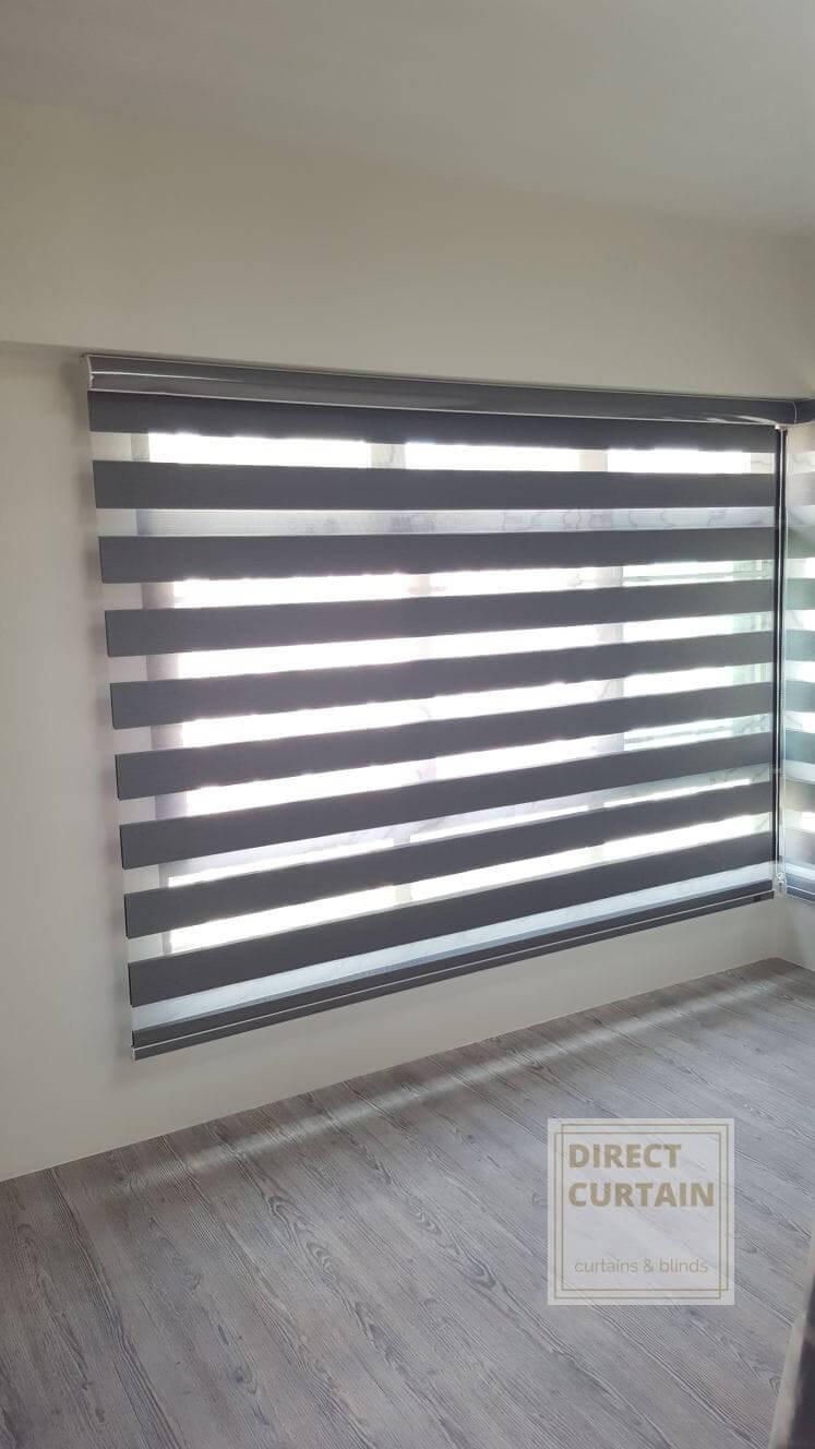 korean-rainbow-combi-blind-in-bedroom-singapore