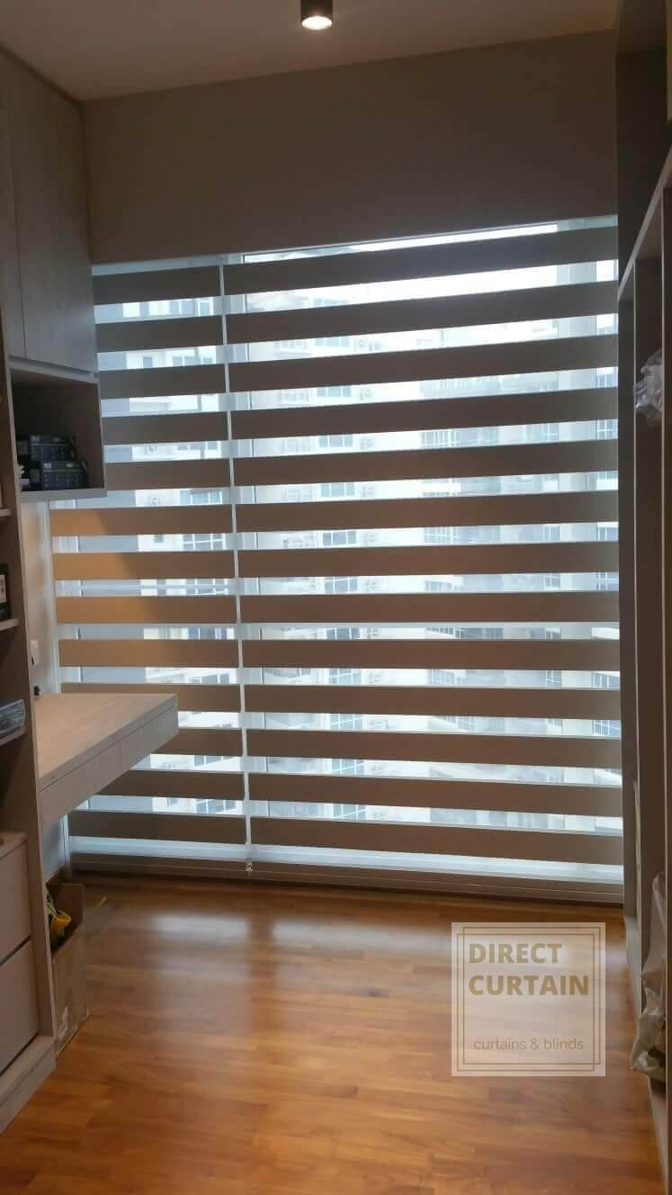 Stylish Korean Combi Blinds for the study room