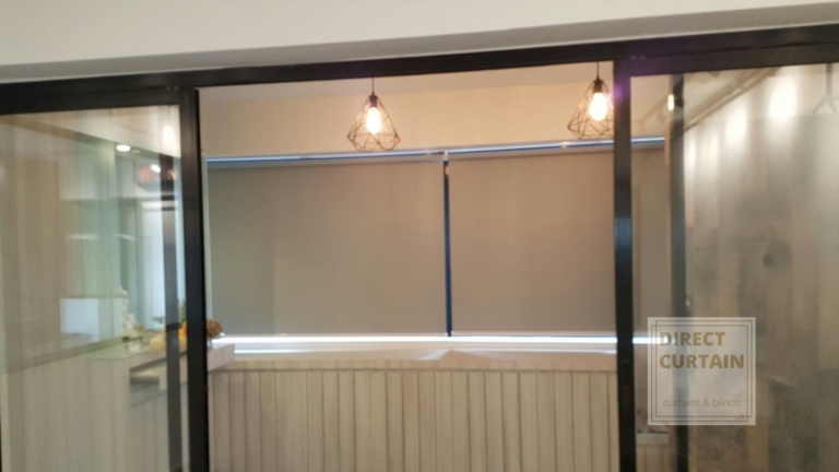 Roller Blinds in Country Style Setting