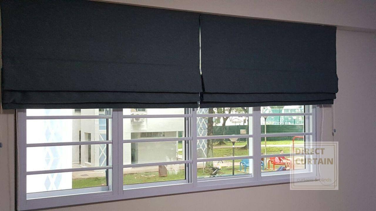Roman Blinds Demo Direct Curtain