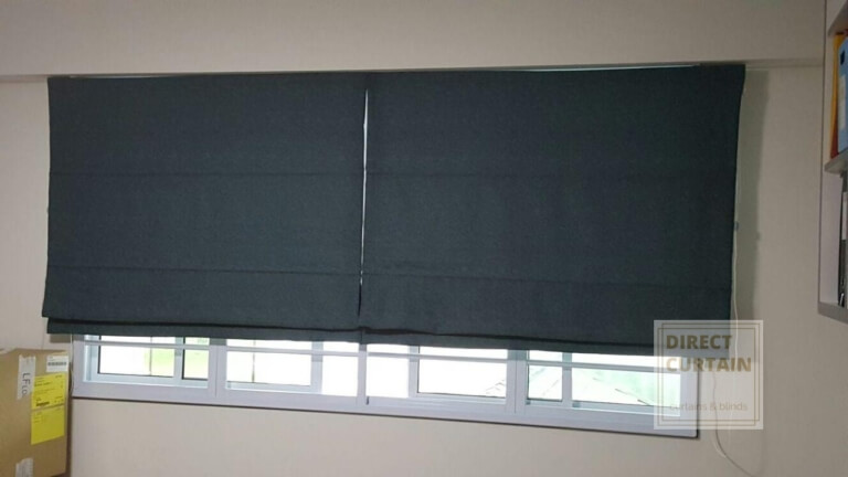 Roman-Blinds-Singapore-Homes-Bedrooms-photo