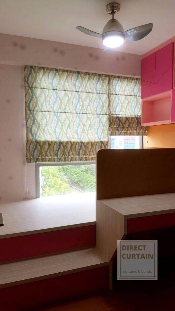 Stylish-Roman-Blinds-Singapore-Homes-Bedrooms-photo