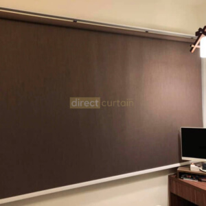 331 Roller Blind Coffee Brown