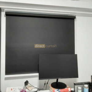 Indoor Block-out Roller Blind - Midnight Black