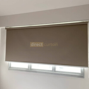 Indoor Roller Blind Singapore - Latte Brown