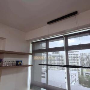 Indoor Sunscreen Roller Blind Dark Grey