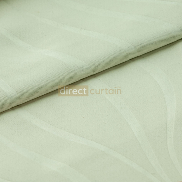 Dim-out Curtain - Ripple Cream White