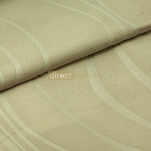 Dim-out Curtain - Ripple Light Brown