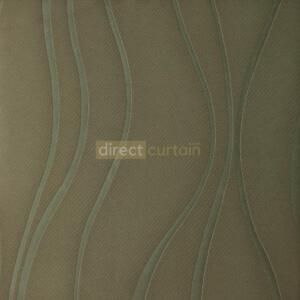 Dim-out Curtain - Ripple Walnut Brown