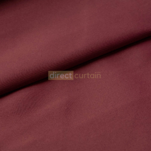 Dim-out Curtain - Smooth Mulberry Red