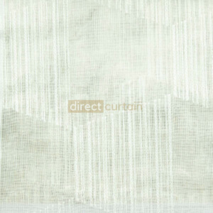 Day Curtain - Trapez White