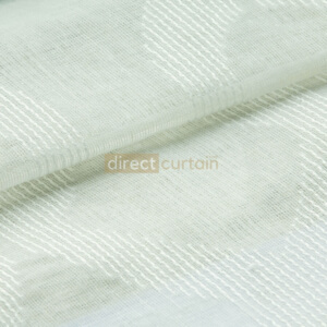 Day Curtain - Trellis White