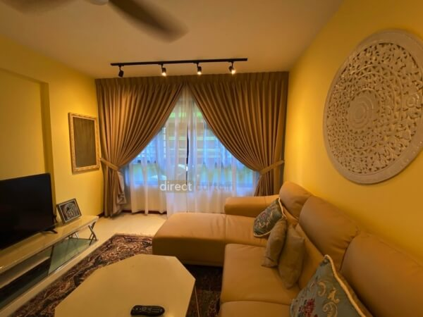 Dim-out Curtain – Tex Tan Beige in Tampines Singapore