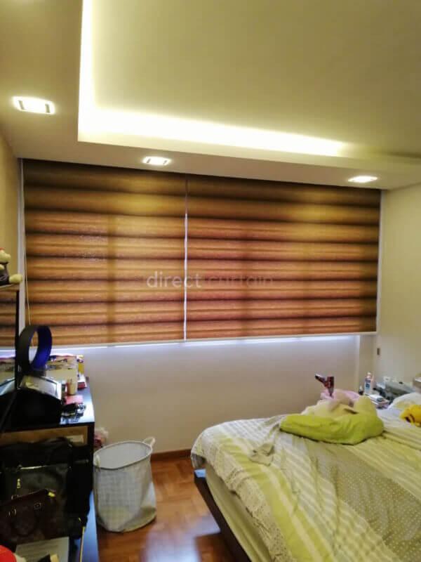 KB 936-korean-combi-rainbow-zebra-blind