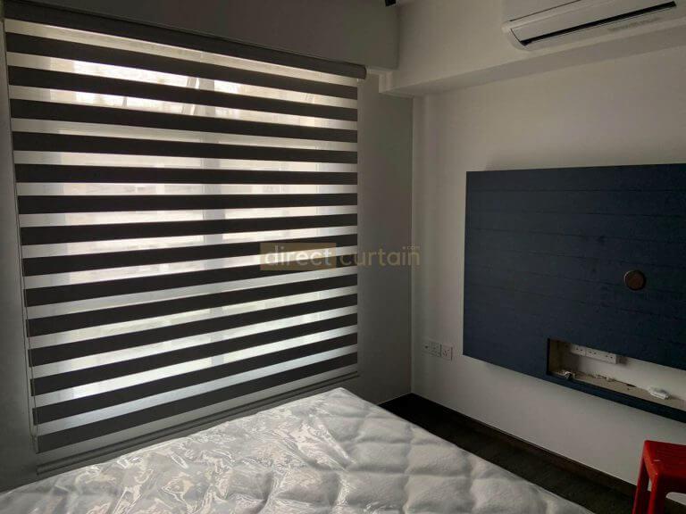 Korean Combi Blind – Blackout Grey MBR 2