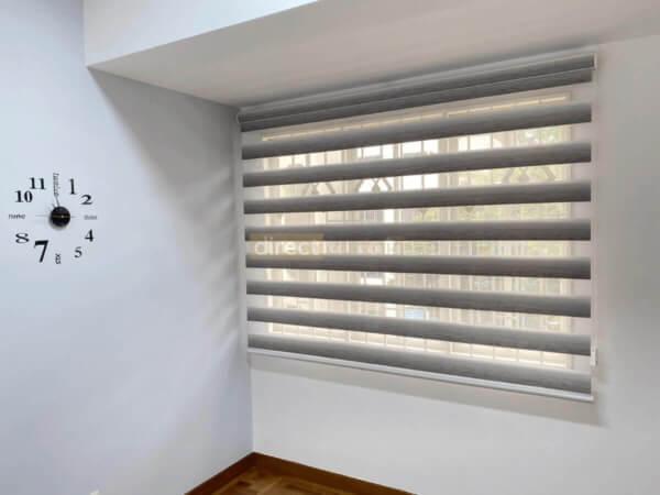 Korean-Zebra-Blinds-Gradation-White-Grey-opened