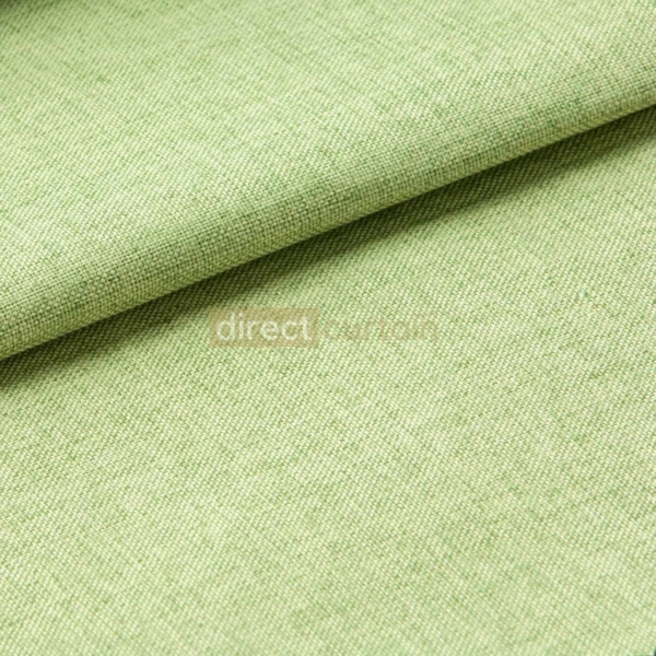 Blackout Curtain - Weave Lime Green