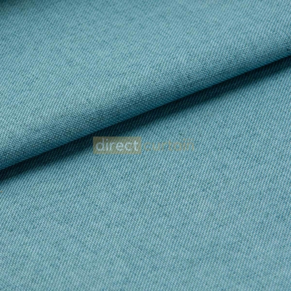 Blackout Curtain - Weave Cerulean Blue