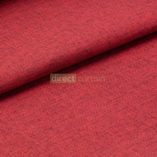 Blackout Curtain - Weave Ruby Red