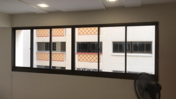 Bare Window before window treatment