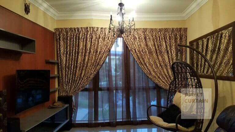 black day curtains and beautiful night curtains