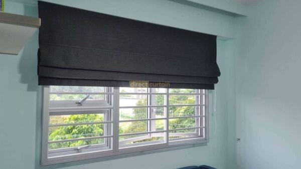 roman blinds 17001-11 left angle