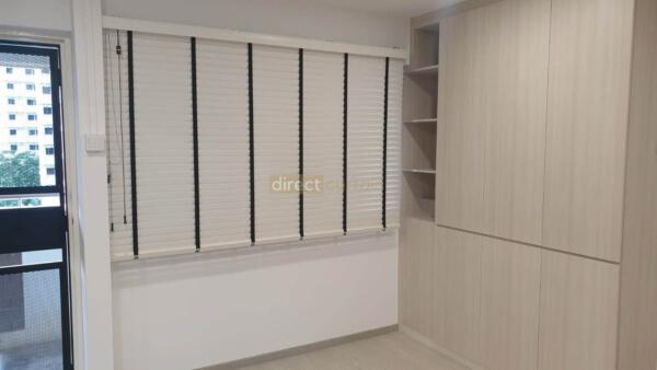 venentian blinds pvc - tampines singapore living room