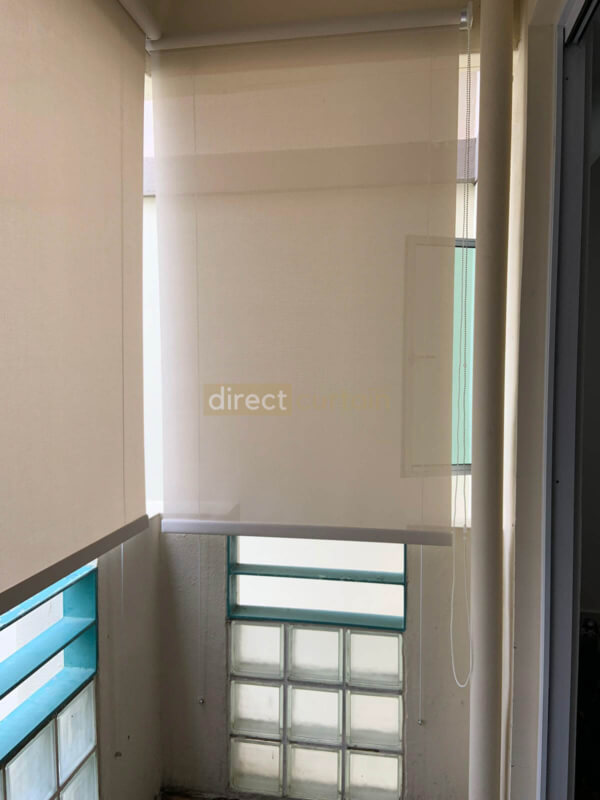 Balcony outdoor blinds in Singapore Pasir Ris