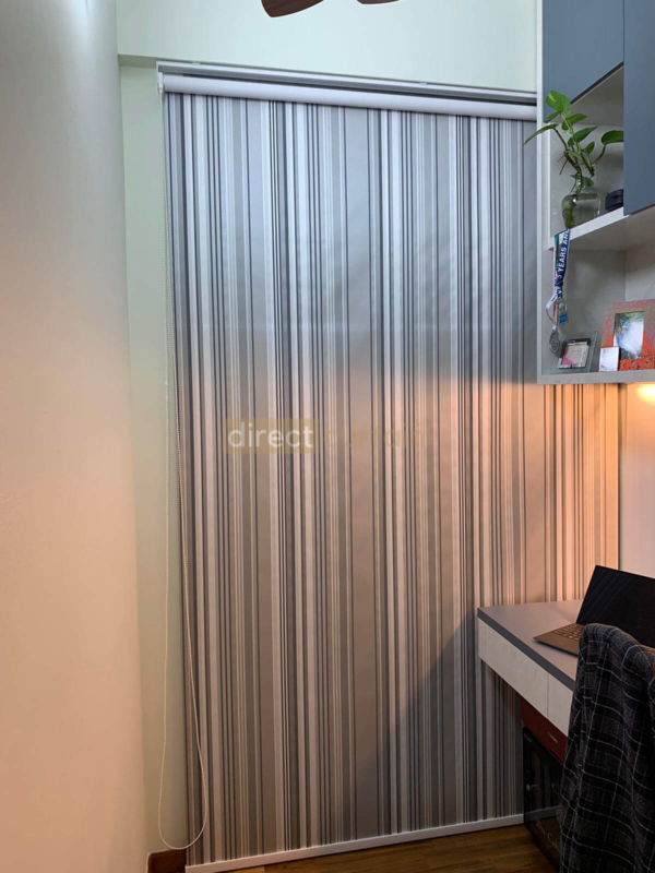 Roller Blind California Blackout Series in Singapore angle shot