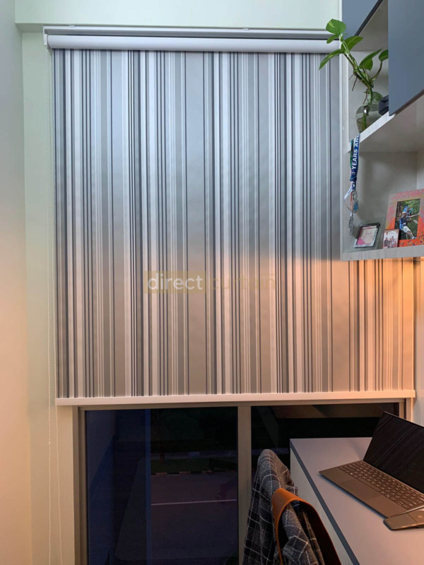 Roller Blind California Blackout Series in Singapore front shot