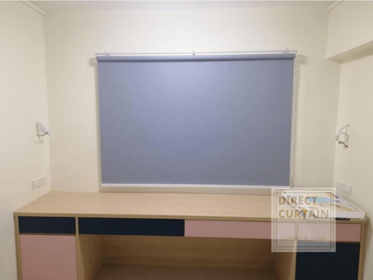 Grey-Roller-Blinds-in-HDB-Common-Room