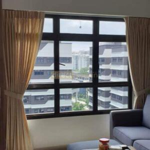 Sem-sheer curtains Canberra Singapore