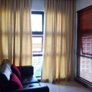 Semi-Sheer Curtain - Goldenrod