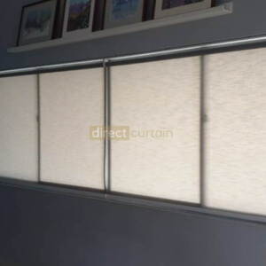 Semi-Sheer Series Basic Roller Blinds Living Room