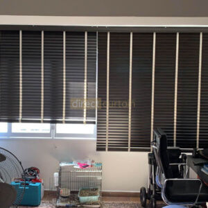 Fauxwood (PS) Venetian Blind - 50mm Singapore