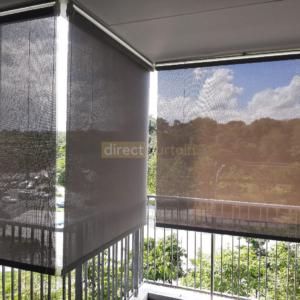 Outdoor Roller Blind Singapore - Grey - Yishun