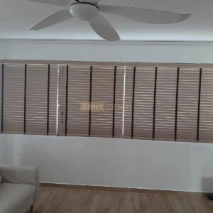 Venetian blinds PS 0050 in Yishun Singapore Living room