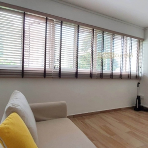 Venetian blinds Polystyrene PS 0050 in Yishun Singapore living room