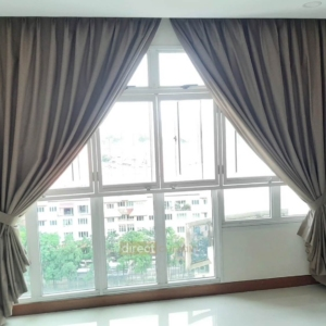 100% Blackout Curtain 39333-11 living room