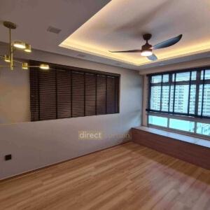 venetian blinds in punggol singapore living room