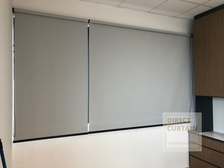 Grey - Wide and Narrow Roller Blinds