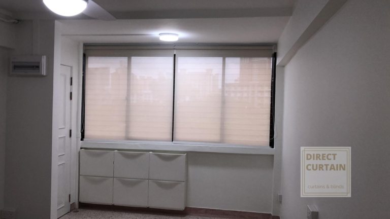 Non blackout roller blinds