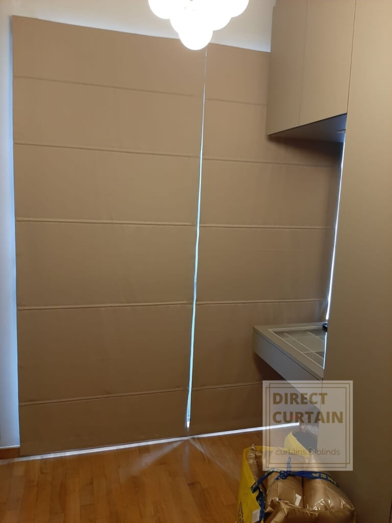 Roman-Blinds-rolled-down