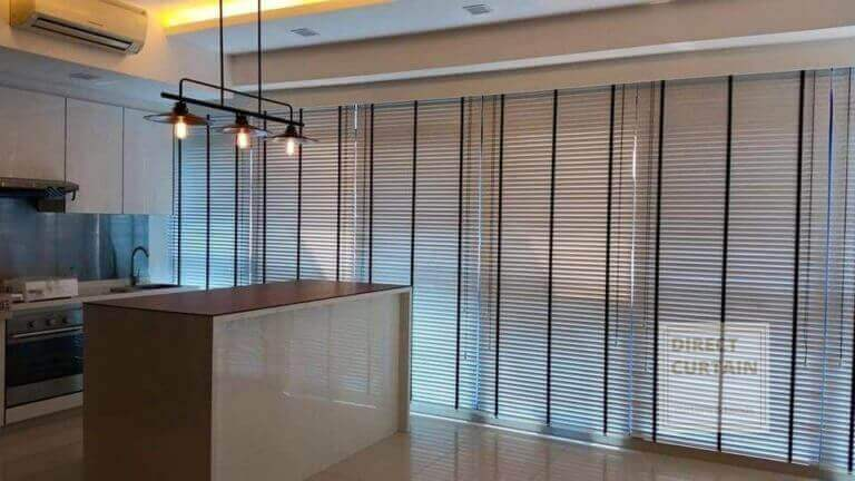 Venetian Blinds in Singapore open concept home