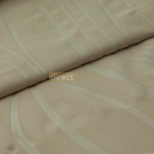 Dim-out Curtain - Ripple Oxford Brown
