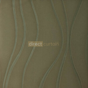 Dim-out Curtain - Ripple Walnut Brown