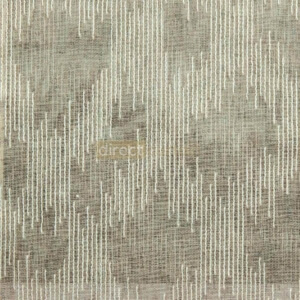 Day Curtain - Abstract Brown