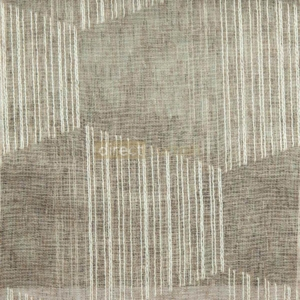 Day Curtain - Trapez Brown
