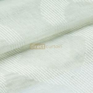 Day Curtain - Trellis White